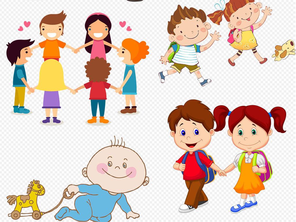 设计元素 人物形象 儿童 > 卡通儿童小孩学生幼儿图片素材  版权图片