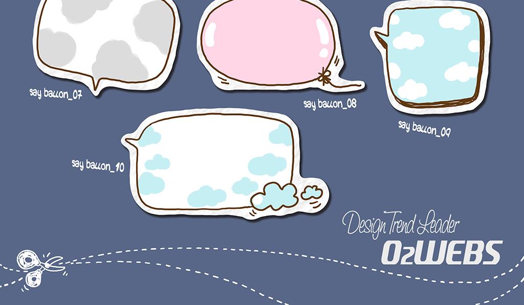 对话框可爱可爱泡泡卡通人物卡通背景卡通动物卡通笑脸卡通小猴子卡通