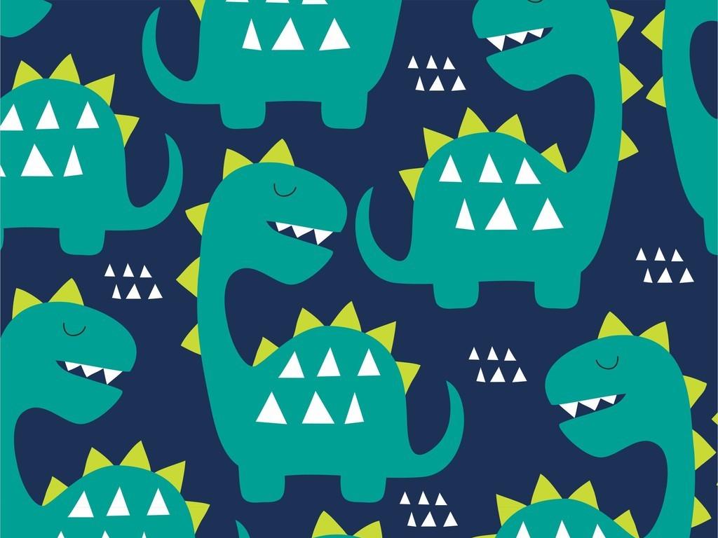 产品图案设计 服装/配饰印花图案 卡通图案 > 卡通动物恐龙图案t恤图片