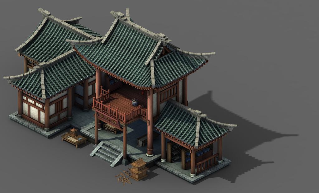 中国古代房子房屋建筑将作监礼部户部部门