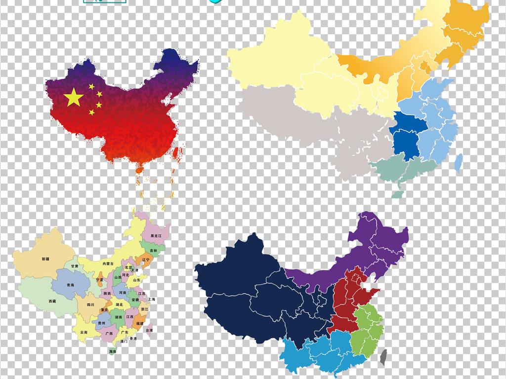 矢量图台湾地图3d中国地图全图下载世界地图剪影ppt素材手绘卡通百度