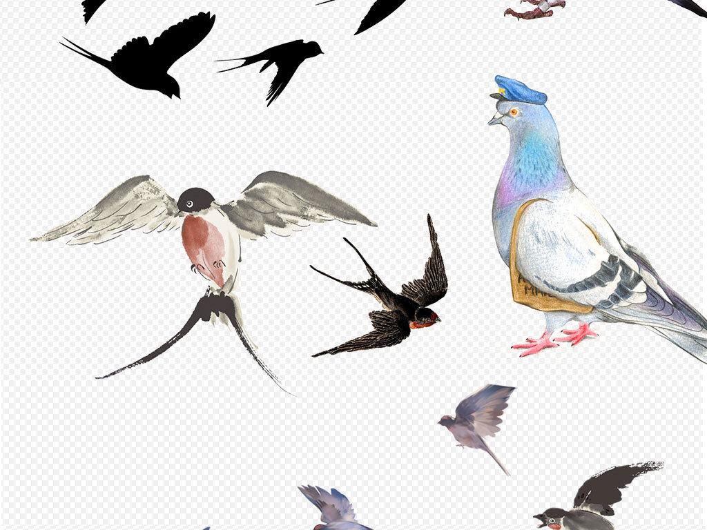 彩铅手绘白鹤的画法