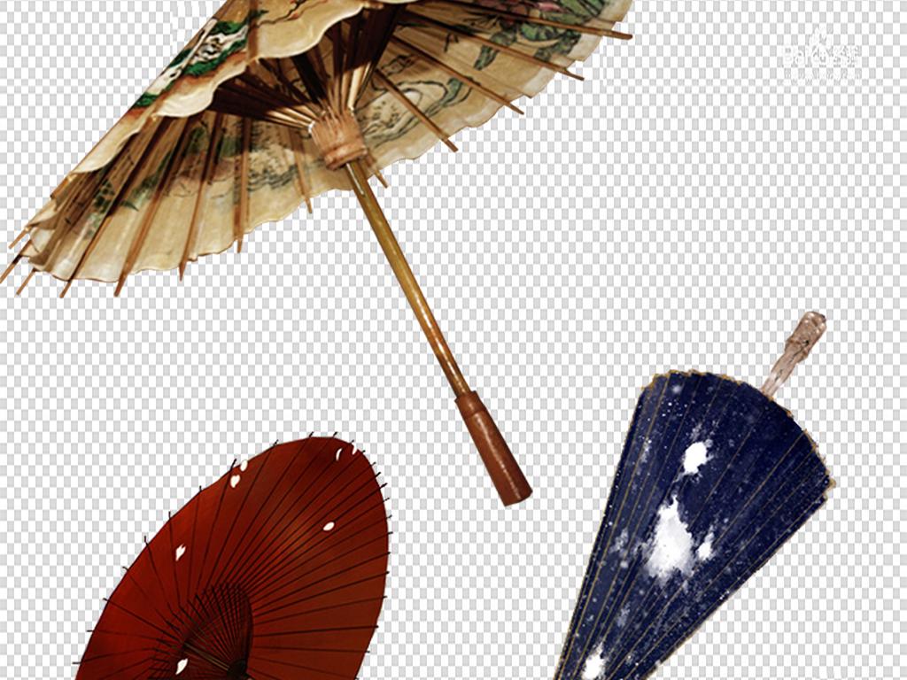 古风油纸伞png免扣素材