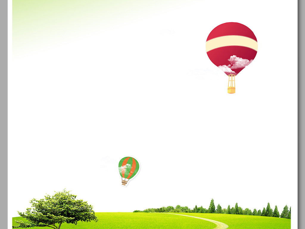 设计元素 背景素材 其他 > 清新自然绿色春天树叶草地信纸海报背景图片