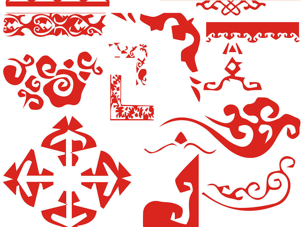 古风祥云中式边框条纹花纹高清素材(图片编号:)_图标图片
