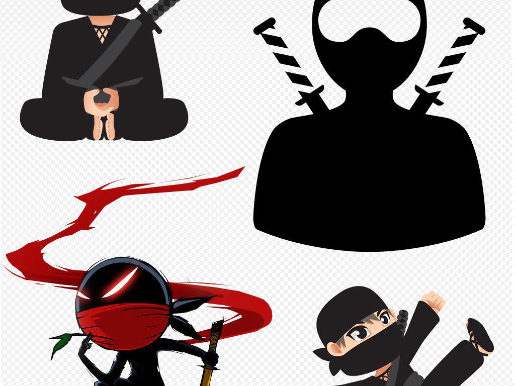 png)                                  卡通人物忍者日本