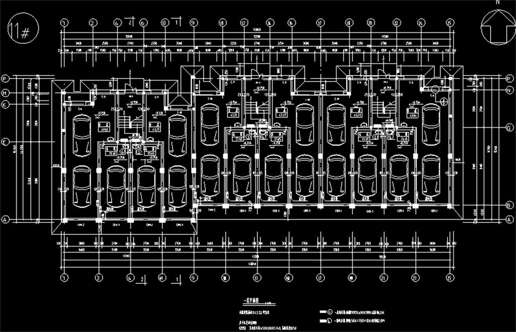 住宅cad施工设计图
