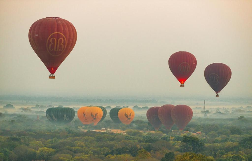 热图-热气球图片自然风景桌面美图素材 模板下载 0.97MB 其他大全 自然图片