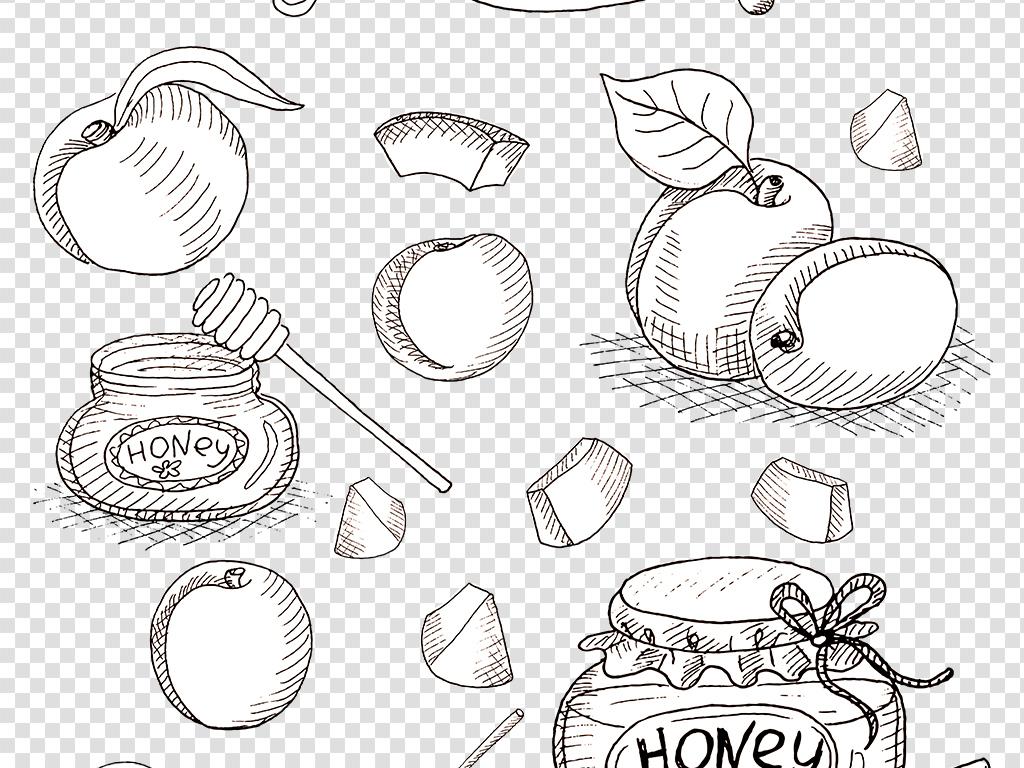 手绘素材蔬果图片食物png免扣图片素材 位图, rgb格式高清大图,使用