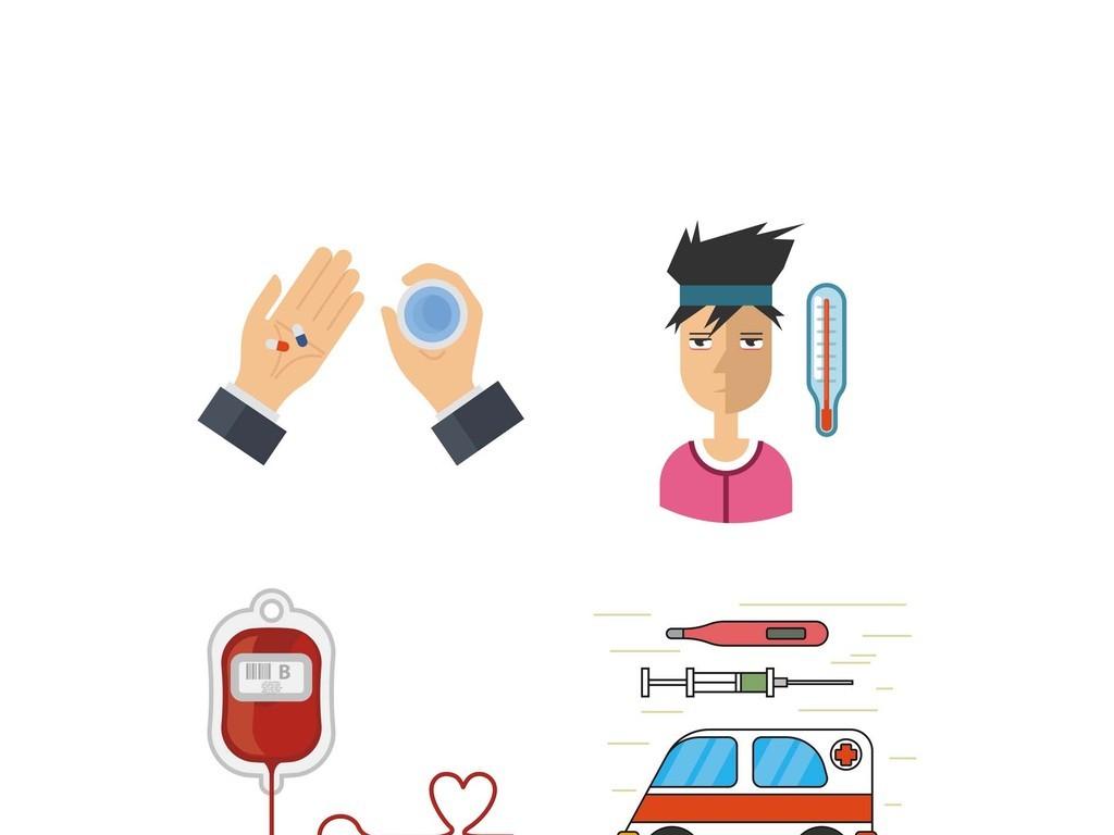 献血采血车无偿献血救护车医疗救助感冒发烧图片