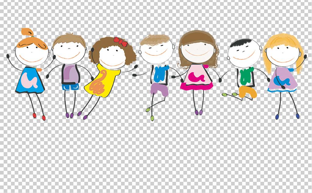 卡通儿童对话框png免抠透明素材