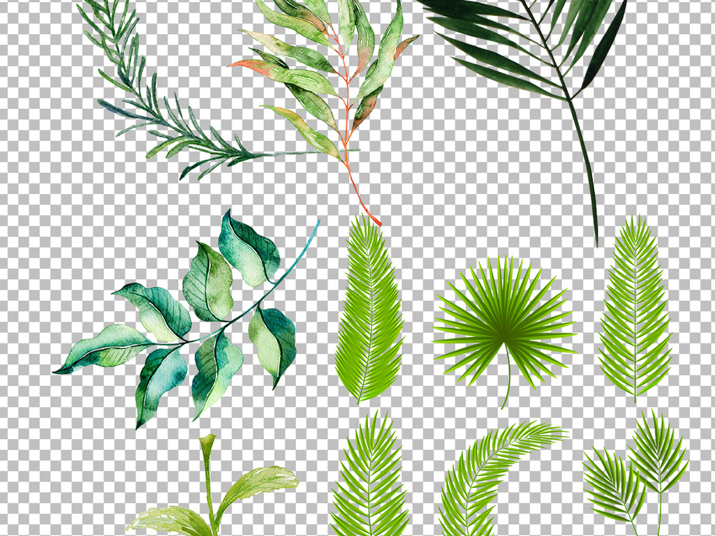 ppt素材手绘水彩水彩素材水彩叶子素材手绘叶子手绘素材叶子素材叶子