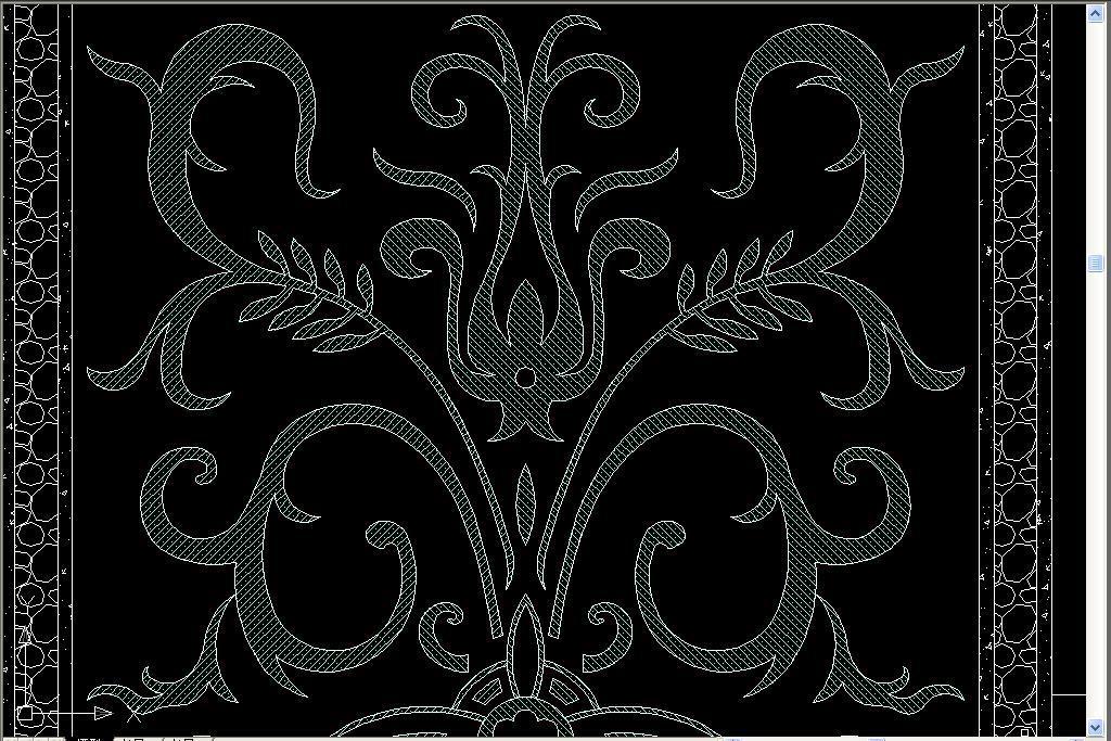 拼花cad角花cad中式水刀拼花欧式浮雕cad欧式床cad图库cad欧式建筑图片