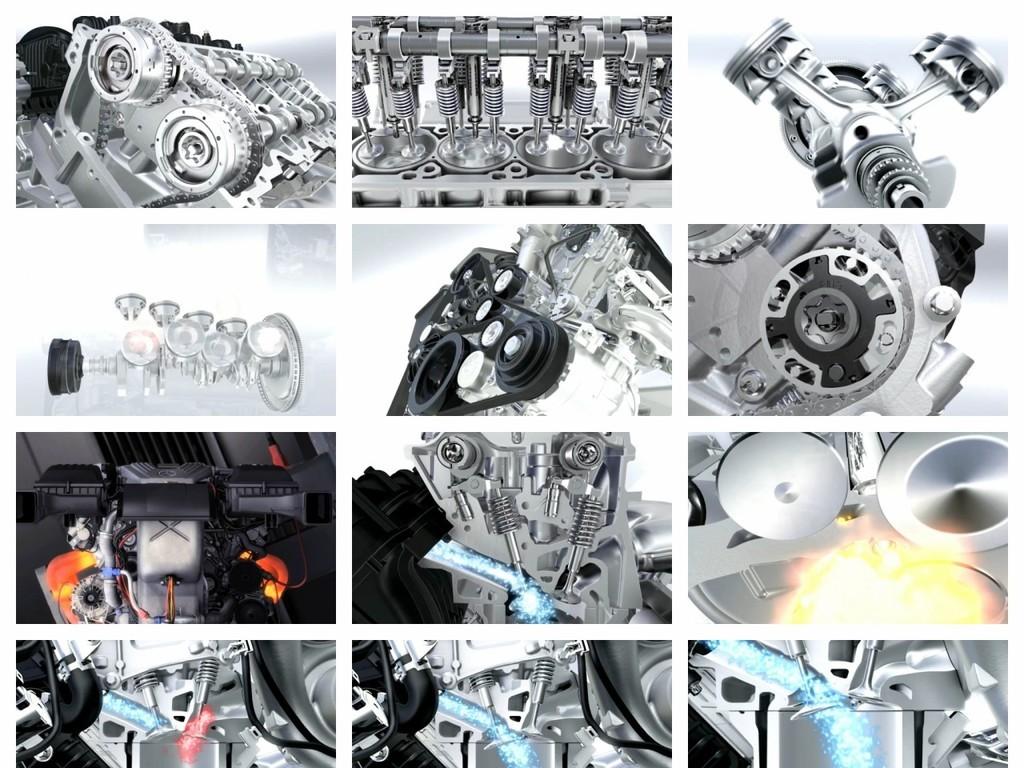 汽车发动机运转工作原理高清视频(图片编号:16687867)