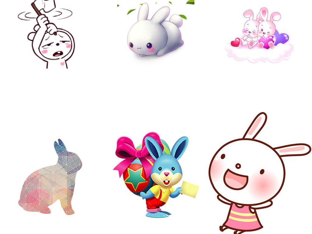 兔子卡通卡通人物卡通背景卡通动物卡通笑脸卡通小猴子卡通人物素描