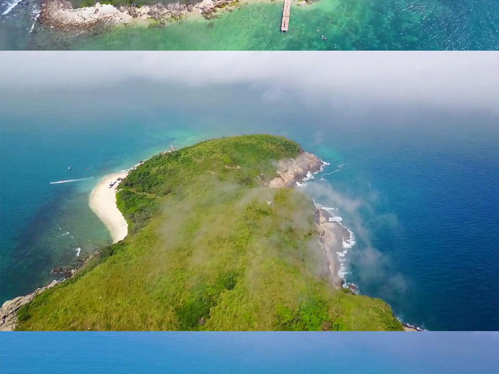 实拍视频 城市景观  其他 > 航拍海南南沙群岛中国海浪旅游  0 %