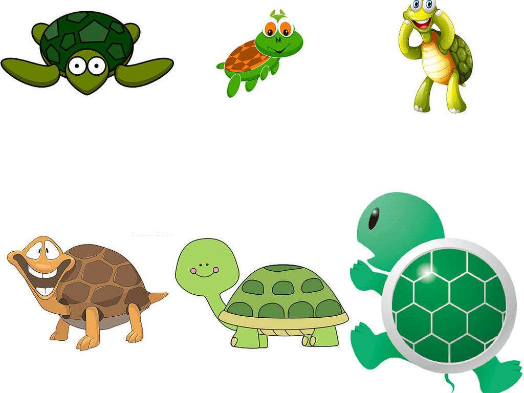 小乌龟卡通图片设计素材1