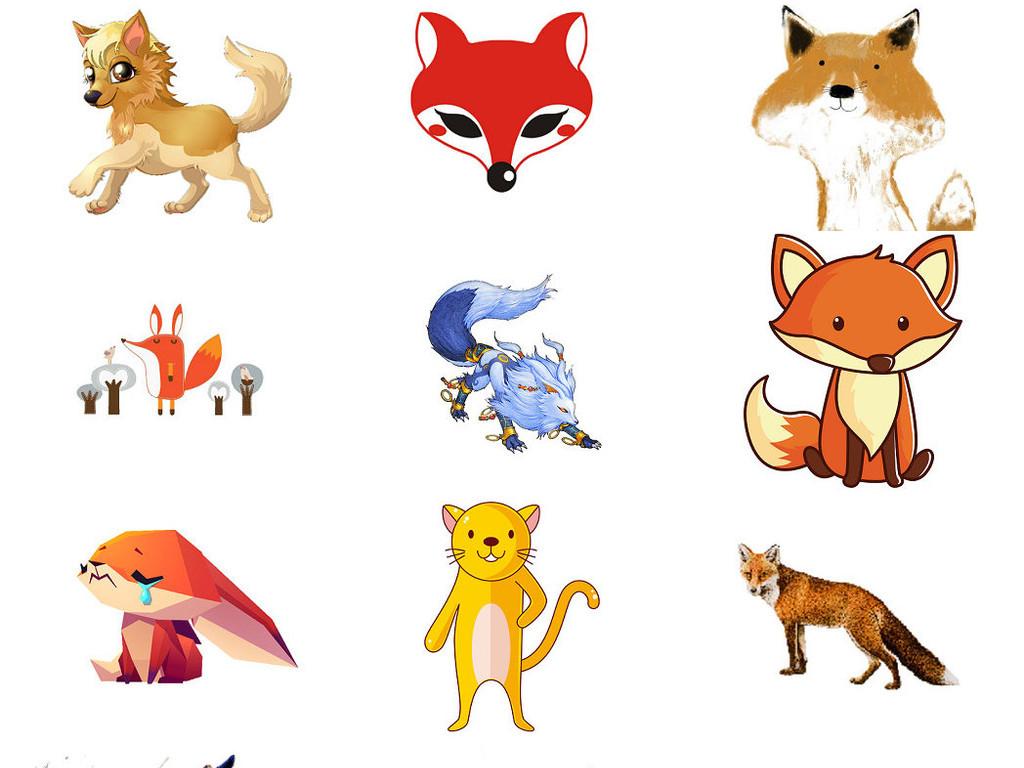 卡通狐狸免抠png图片2