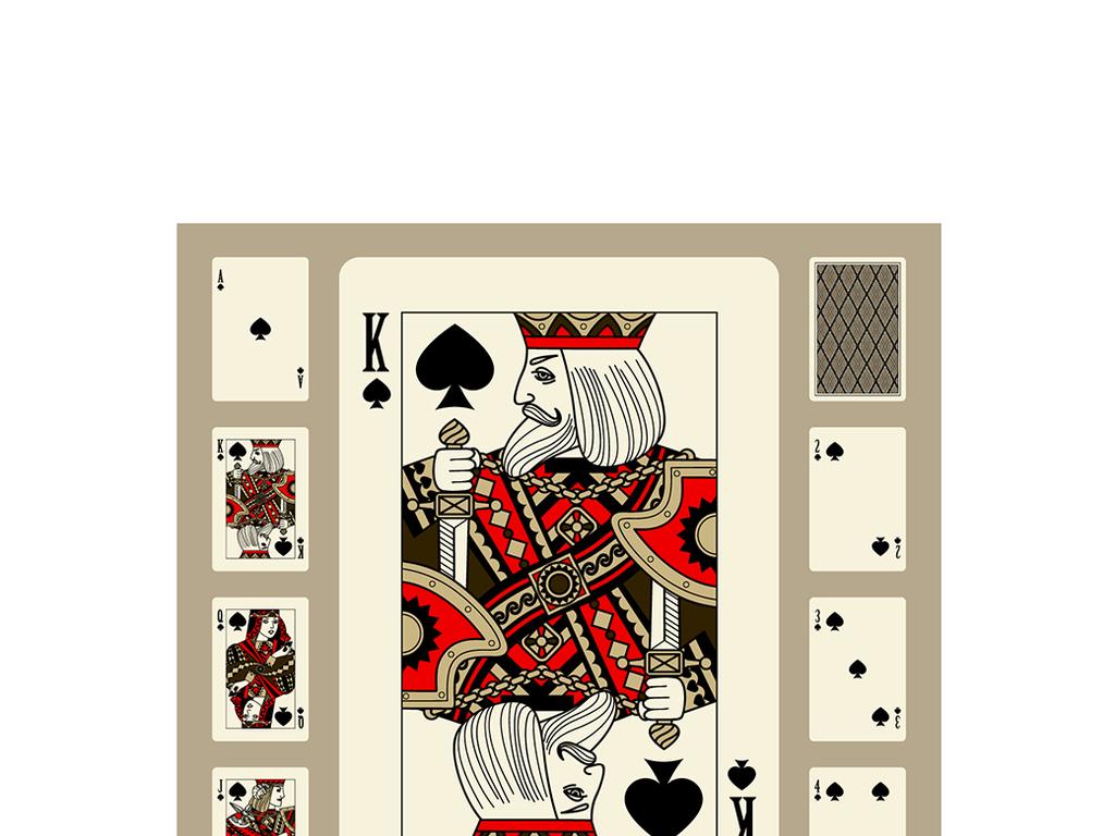 扑克牌素材
