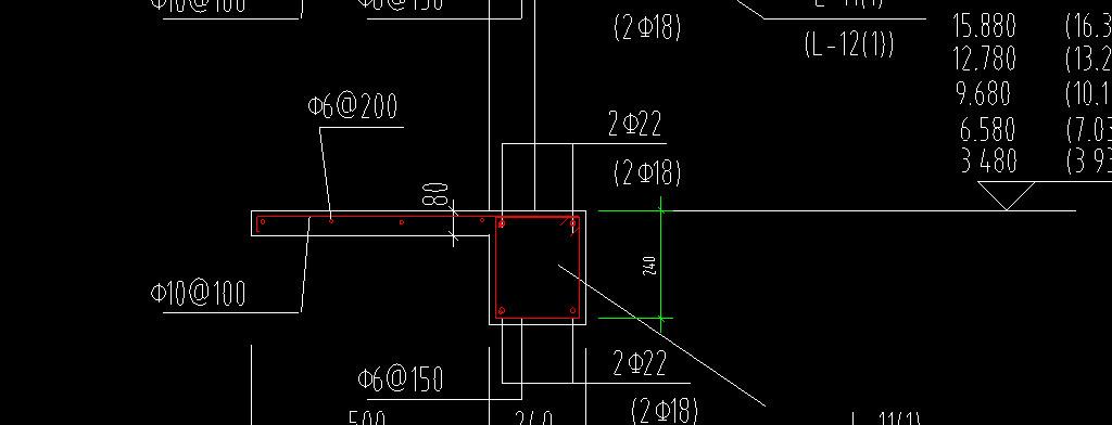 两套住宅楼cad装修设计图