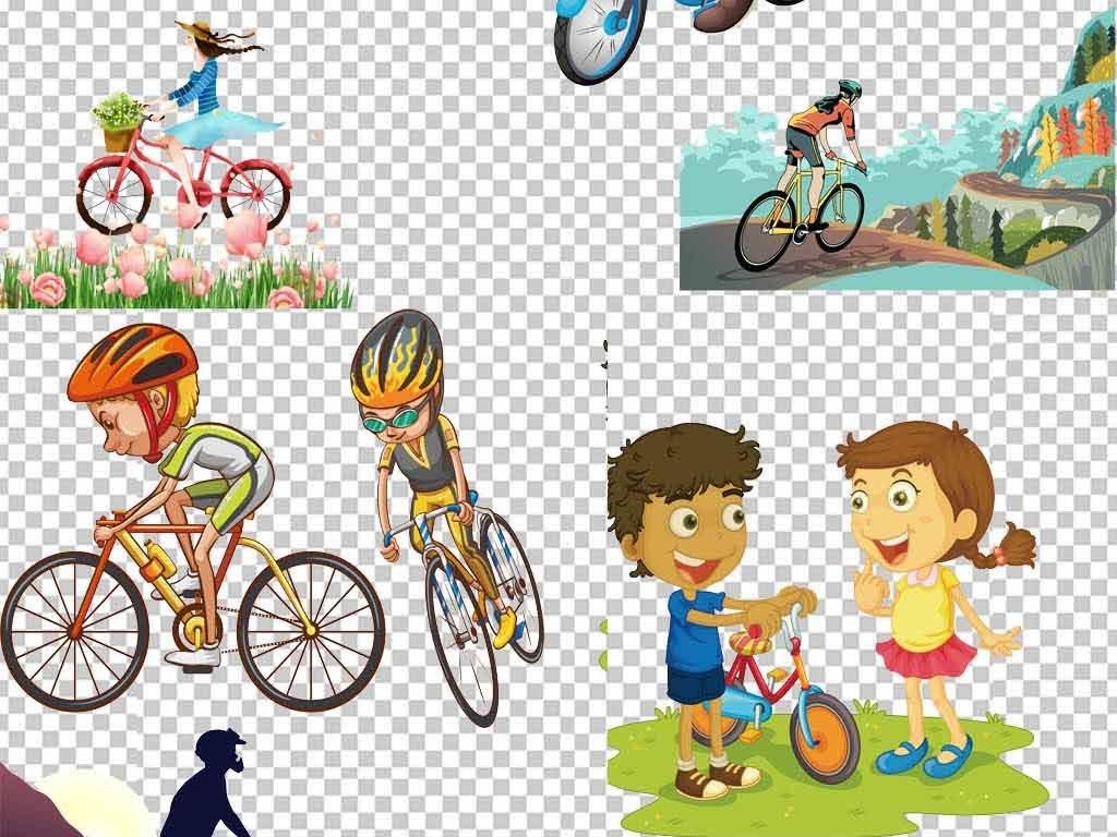 运动骑自行车骑自行车剪影骑行素描自行车手绘卡通卡通手绘单车图片素