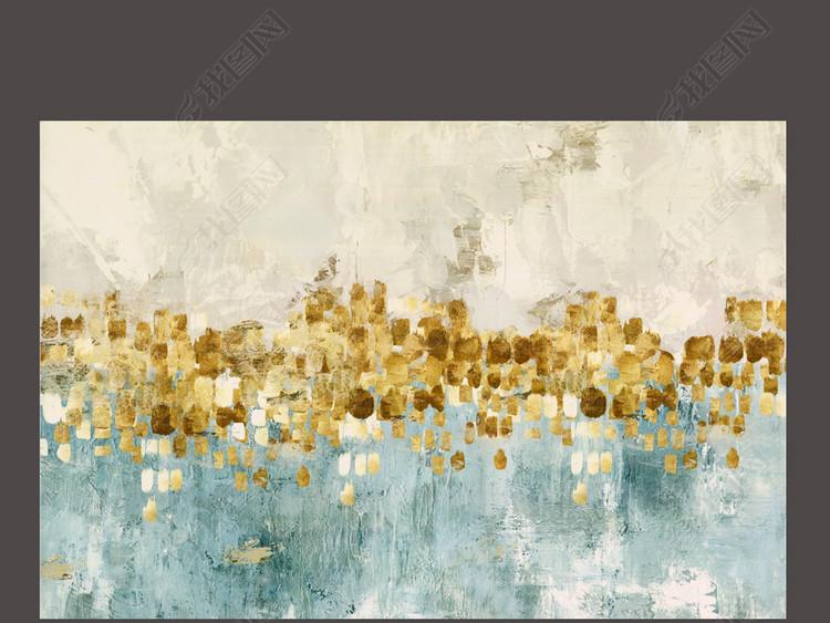 跳舞的星星美克美家进口画芯抽象装饰画