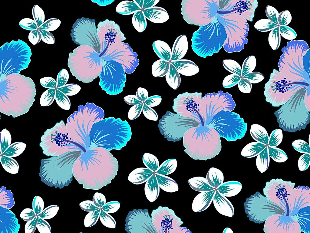 植物花卉图案设计