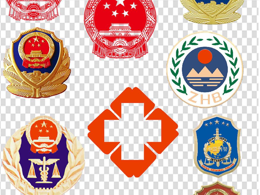 png)党徽共青团团徽八一军徽素材            图片
