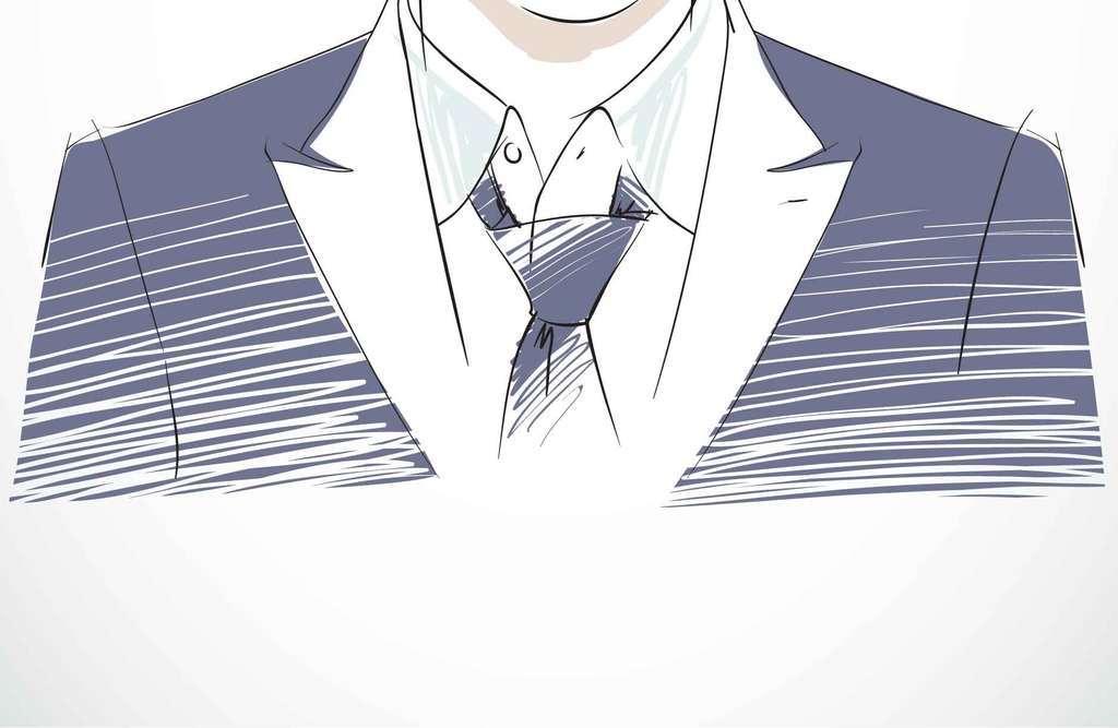 男人商务人士人物插画                                  人物头像