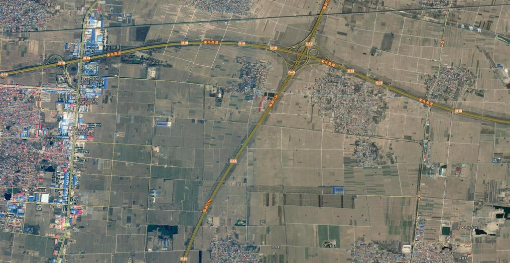 雄县高清卫星地图有地名