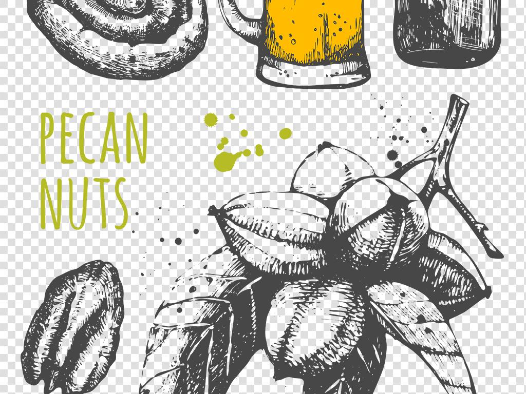 海报素材食物透明图片手绘食品png图片图片食物蔬果手绘素材素材图片p
