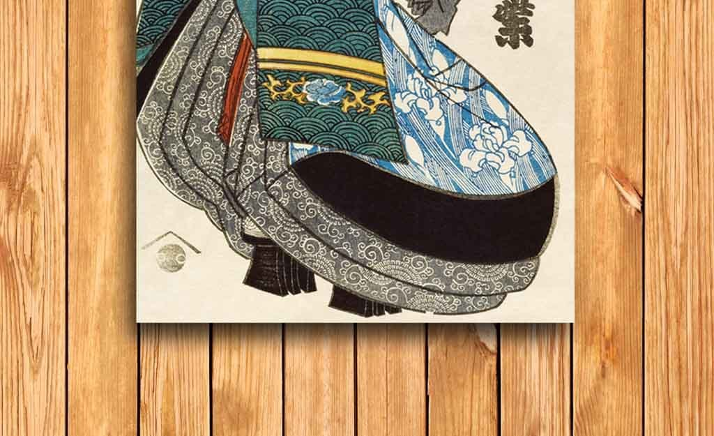 高清精美日本浮世绘古典美人装饰画