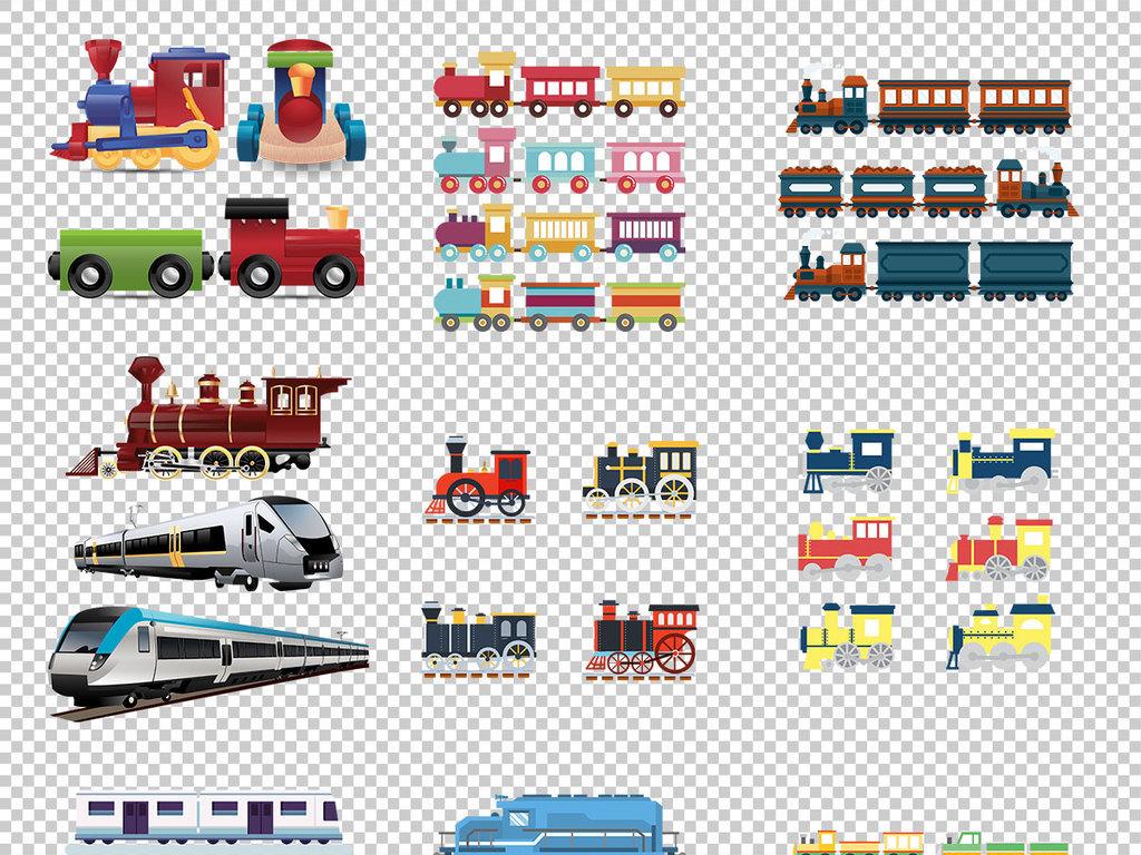 手绘素材透明素材透明图列车高铁图片高铁车站高铁素材高铁动车视频