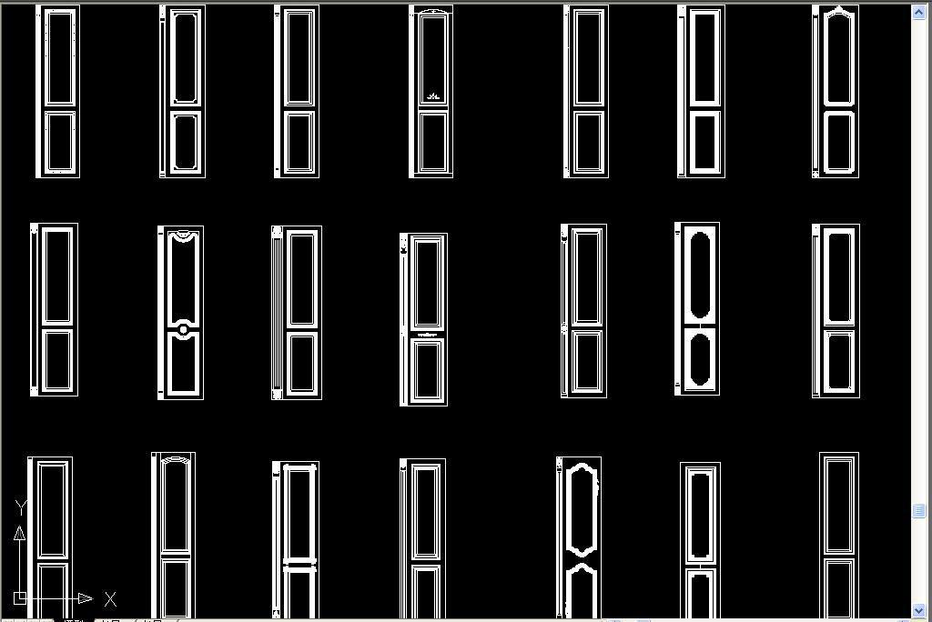 木橱柜门板欧式橱柜cad罗马柱cad雕花门板雕花线条整体橱柜欧式家具