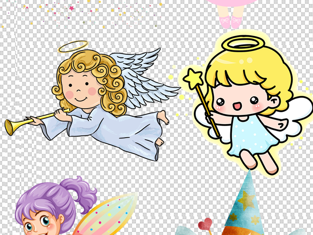 小公主小娃娃                                  卡通