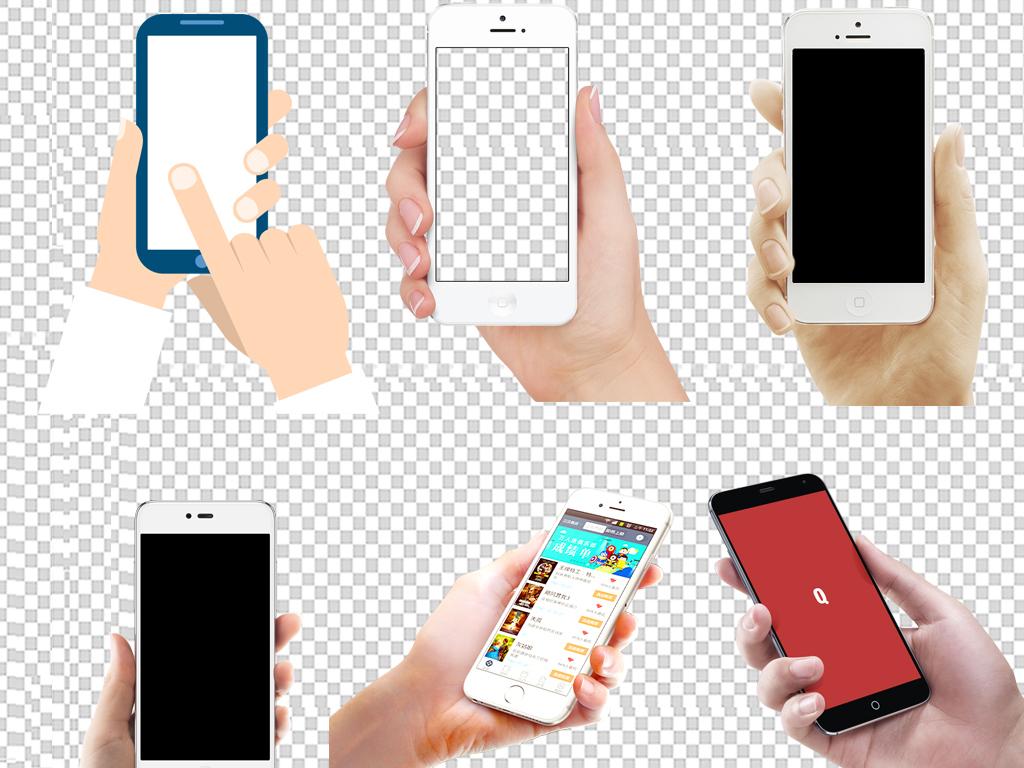 图标苹果手绘手机图手绘手机vivo苹果手机素材手拿手机手机素材展示