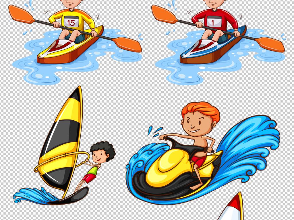 免抠元素 人物形象 儿童 > 卡通儿童小孩游泳夏令营素材png  素材图片