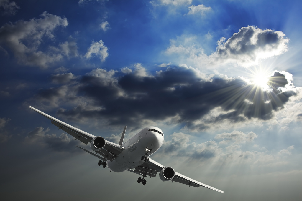 民航客机大飞机图航空交通客机客运交通运输飞机