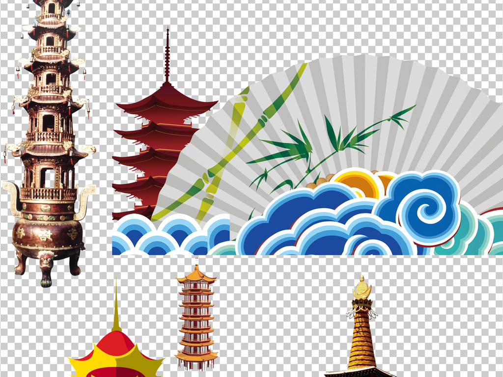 中国古建筑古风