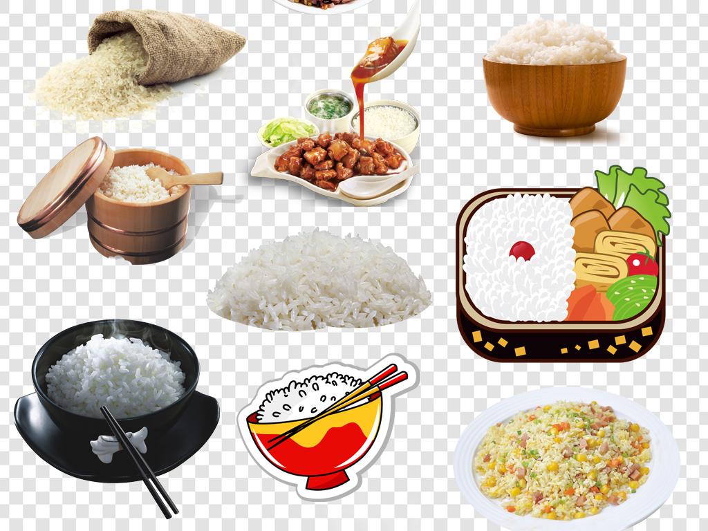 米饭大米PNG海报素材图片下载png素材 其他
