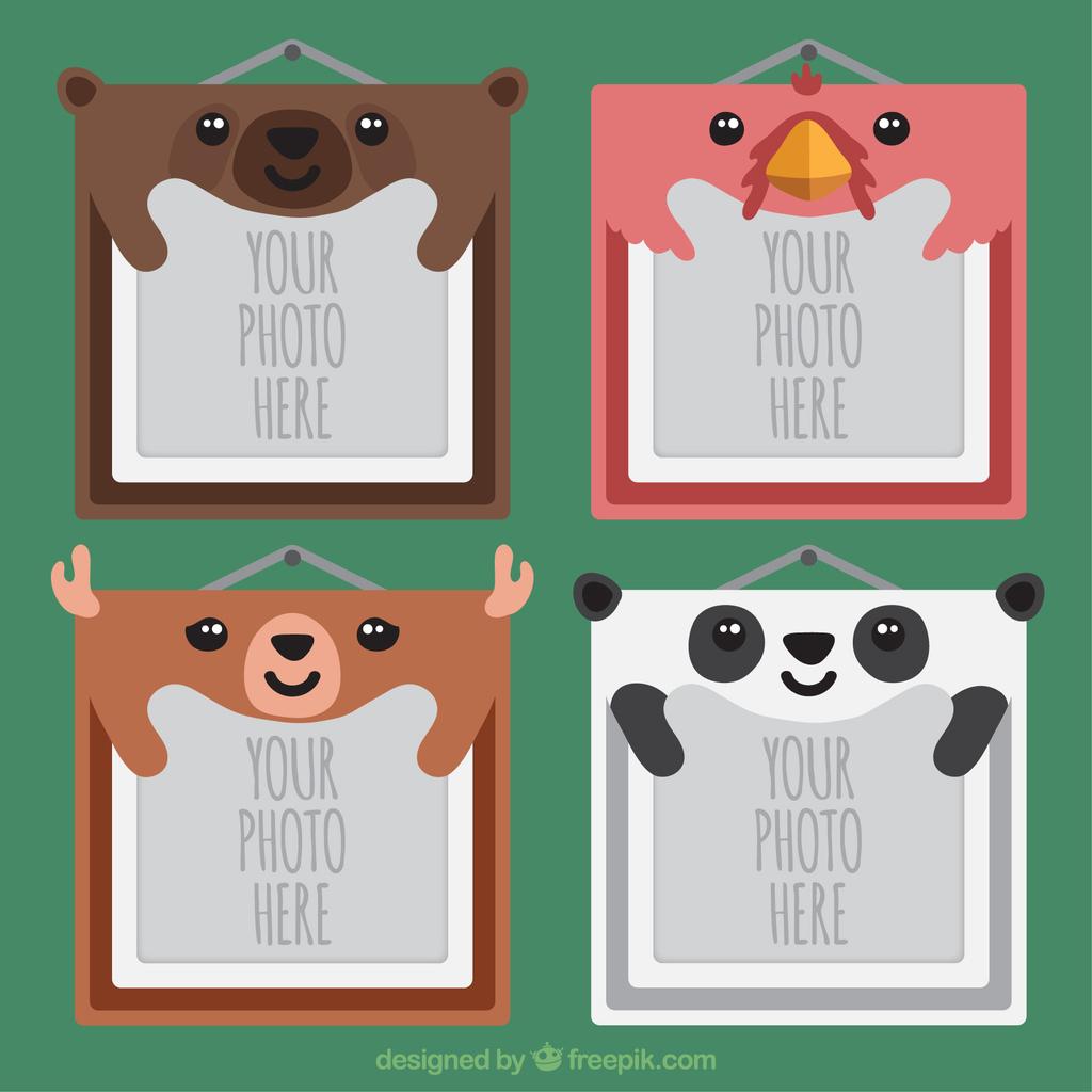 矢量熊猫                                    手绘熊猫