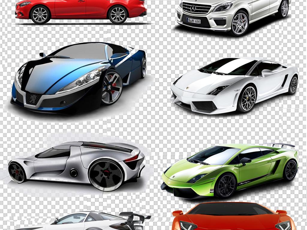 高档品牌汽车ps素材集合