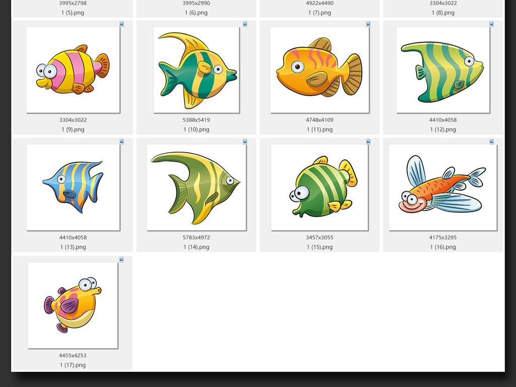 我图网提供精品流行可爱卡通海洋生物动物鱼PNG免扣素材PS下载,作品模板源文件可以编辑替换,设计作品简介: 可爱卡通海洋生物动物鱼PNG免扣素材PS 位图, RGB格式高清大图,使用软件为 Photoshop CS5(.png) PSD素材 PPT素材 PNG透明背景 视频素材 FLASH素材 AE素材