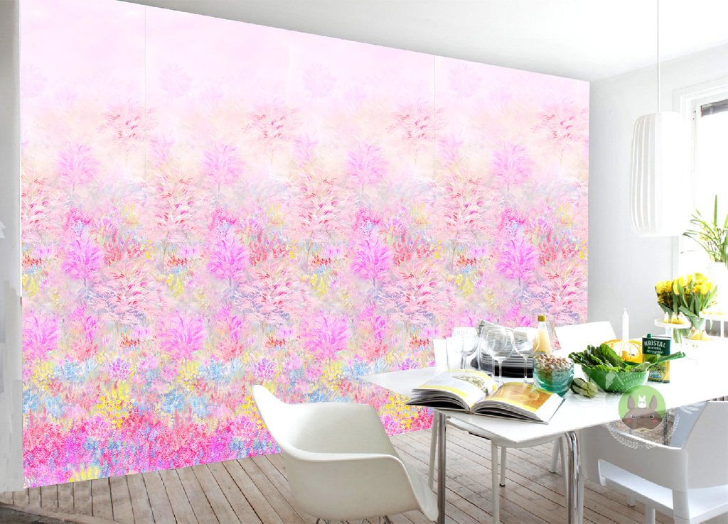化生产印刷手绘花形手绘花藤花手绘墙手绘蔷薇花手绘太阳花复古手绘花