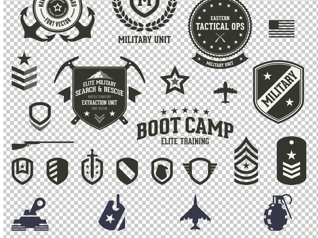 格式png图剪影手绘矢量图免抠图海报展板高清高清晰素材军事免抠素材