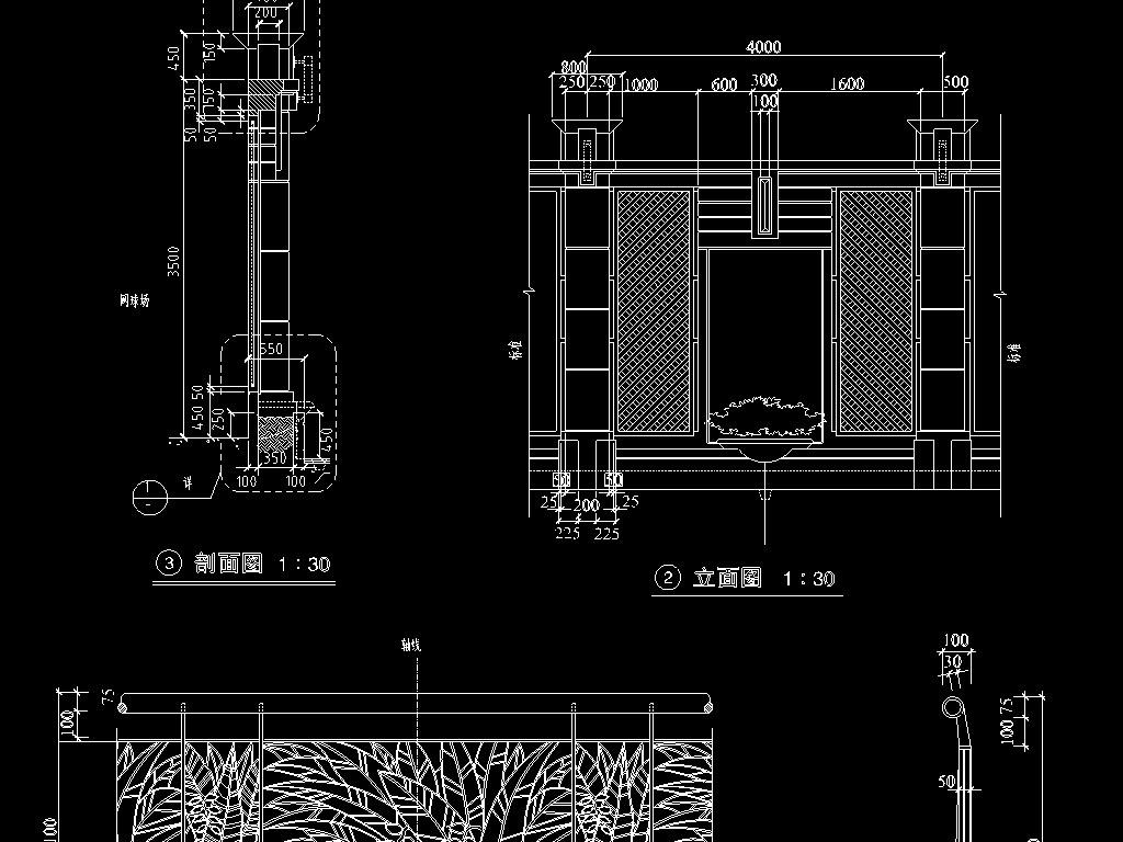 住宅电路设计图 visio