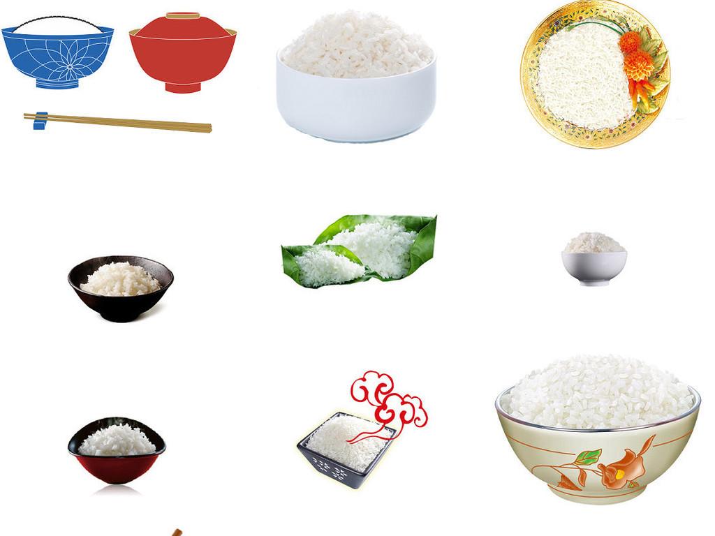卡通米饭白饭一碗饭图片海报素材1图片下载png素材 效果素材