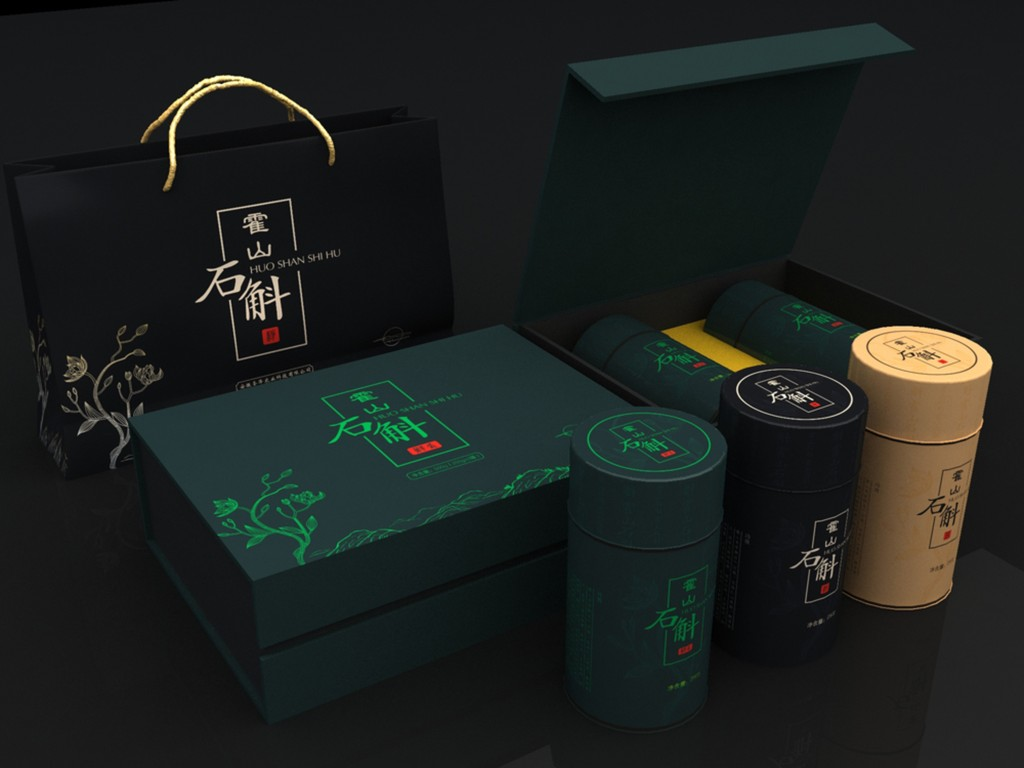 石斛礼品包装设计图下载(图片10.47mb)_展览模型库图片