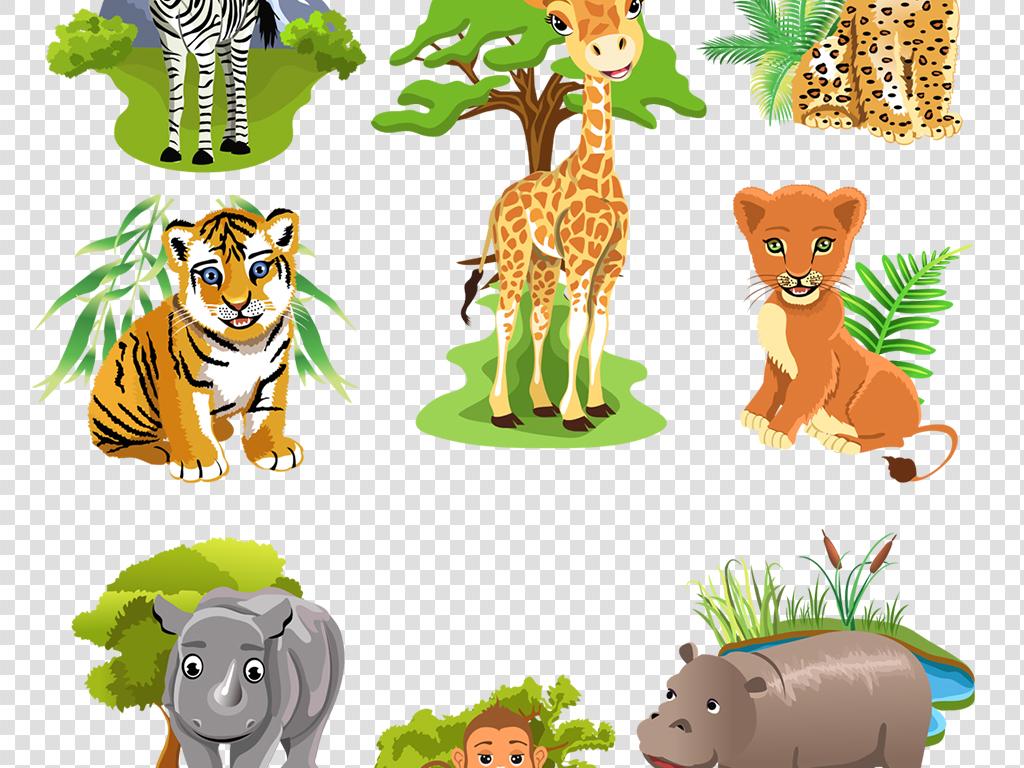 卡通动物                                  动物卡通画