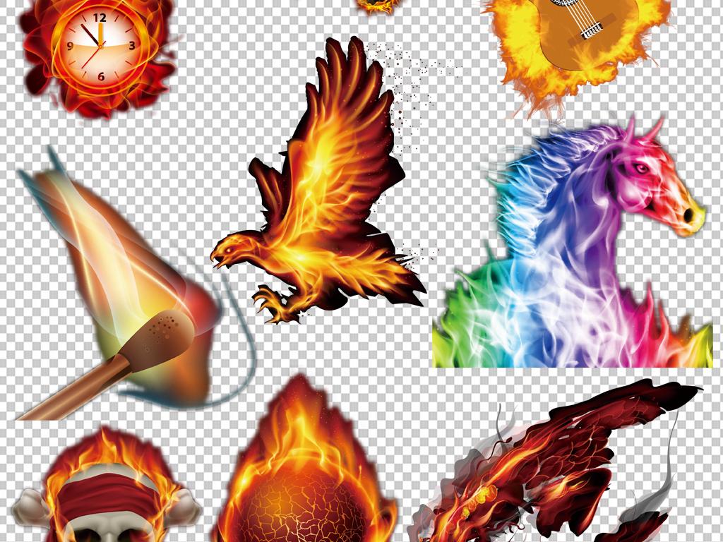 手绘矢量图免抠图海报展板高清高清晰素材火焰免抠素材素材火焰超酷火